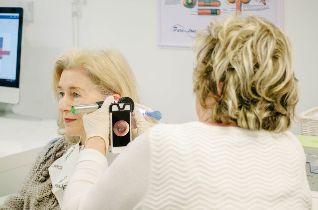Endoscopy ear wax removal