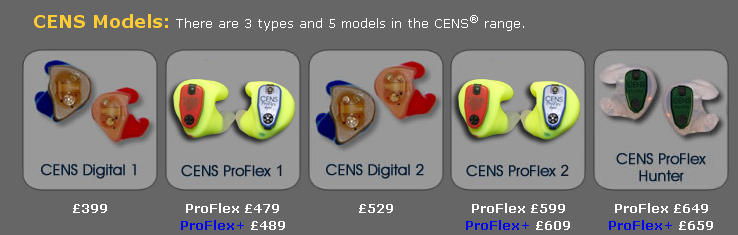 CENS Models Available