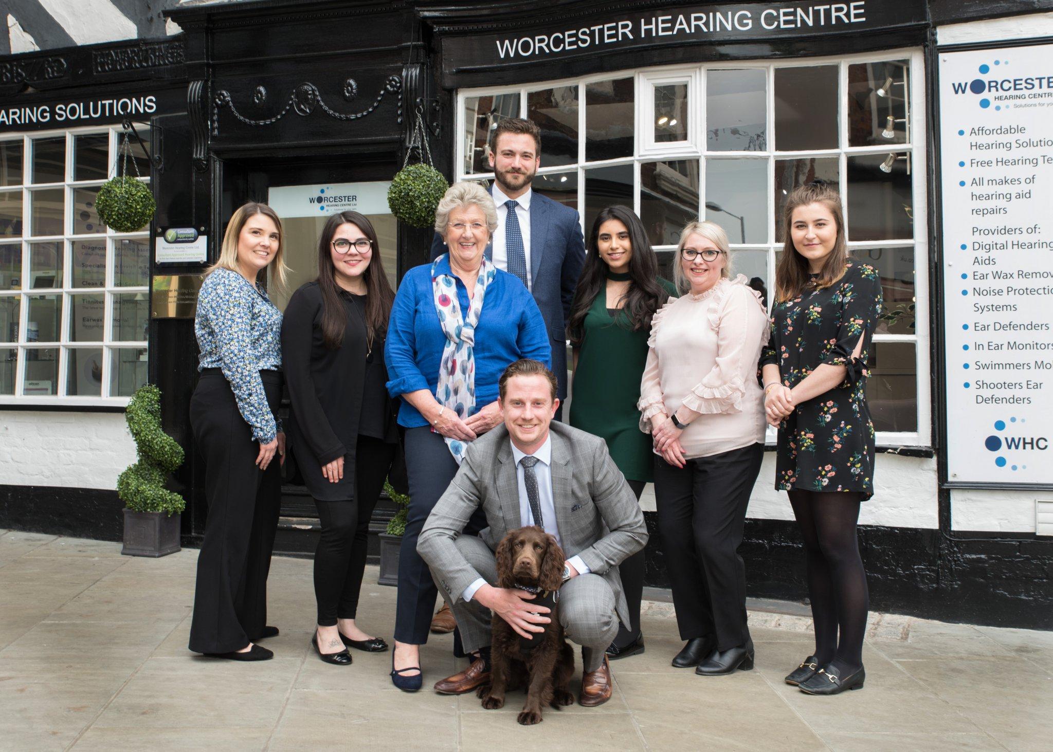 Worcester & Stratford Hearing Team Photo