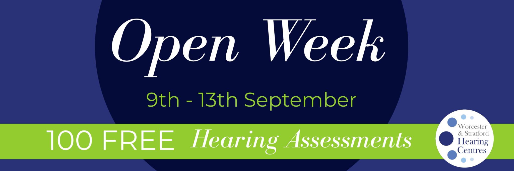 Open Week September 2019