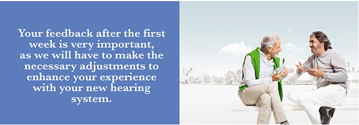 Hearing aid aftercare appointments